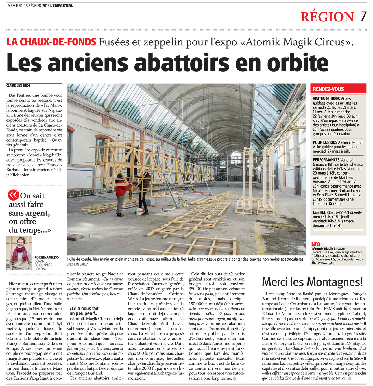 Luxor Factory Residence Atelier Pour Artistes